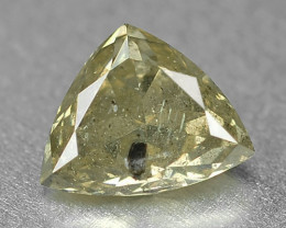 *NoReserve*Diamond 0.45 Cts Untreated Natural Greenish Grey Color