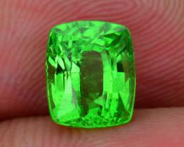 AAA Grade 2.14 ct Tsavorite Garnet Lush Green SKu-8
