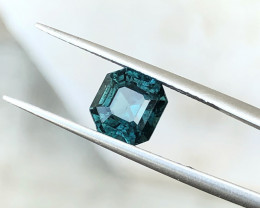 1.80 Ct Natural Blueish Green Transparent Tourmaline Gemstone