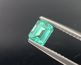 Colombian Natural Emerald Crystal Green Glowing Luster 0.50 Cts