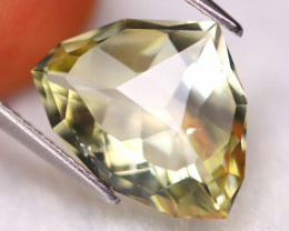 Prasiolite 4.95Ct Natural Designer Fancy Cut Brazilian Prasiolite A2510