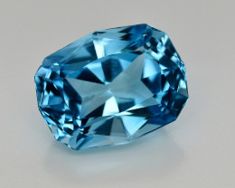 18.30 CT NATURAL BLUE SWISS TOPAZ GEMSTONE