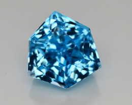 17.15 CT NATURAL BLUE SWISS TOPAZ GEMSTONE