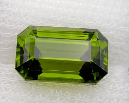 Peridot 8.68 cts oily green