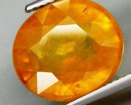 12.36 ct.   Natural  Yellow Sapphire   Africa