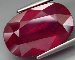 18.20  Cts Top Quality Blood Red Natural  Ruby  Mozambique