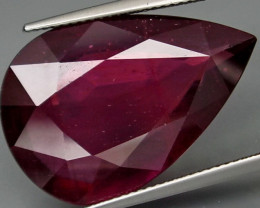 28.93  Cts Top Quality Blood Red Natural Ruby Mozambique
