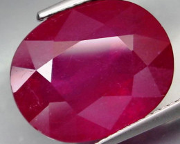 13.07 Cts . Top  Blood Red Natural Ruby Mozambique Gem