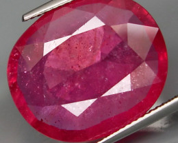 18.36  Cts . Top Quality Natural  Ruby   Winza Tanzania Gem