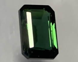 Dark Emerald Green Tourmaline - No reserve - Fabulous Color