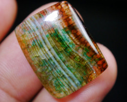 13.90 CT Beautiful Dragon Skin Chalcedony Agate
