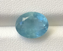 3.30 Carats Natural Blue Aquamarine Gemstone