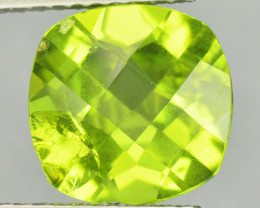 2.55 Cts Amazing Rare Fancy Green Natural Peridot Gemstone