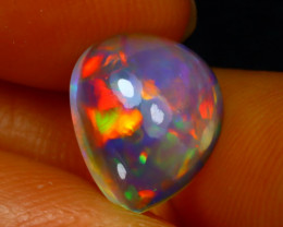 Welo Opal 1.80Ct Natural Ethiopian Play of Color Opal D2933/A3
