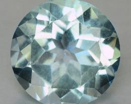 2.00 Cts Fancy  Light Green Quartz Natural Gemstone