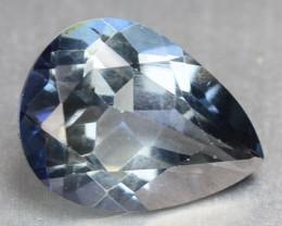 1.28 Cts  Blue Quartz Natural Gemstone