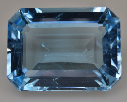 Natural Blue Topaz  17.37 Cts Top Quality Gemstone