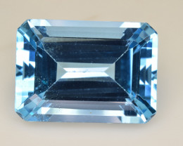 Natural Blue Topaz  17.90 Cts Top Quality Gemstone