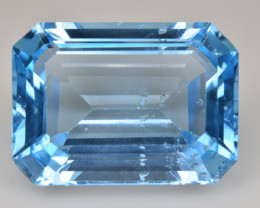 Natural Blue Topaz  18.12 Cts Top Quality Gemstone
