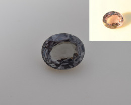 Natural Color Changing Garnet 2.03 Cts, Top Quality