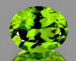 9x7 mm Oval 2.11cts Green Peridot [VVS]