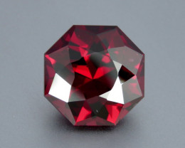 11.60ct Flawless Natural Beautiful Master Cut Rhodolite Garnet from Africa