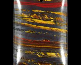 Tiger Eye Quartz 113.89 ct Australia GPC Lab