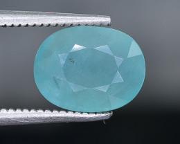2.21 Crt Natural Rare Grandidierite  Faceted Gemstone.( AB 54)