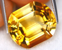 Citrine 7.81Ct VVS Natural Capsule Cut Golden Yellow Citrine B2601