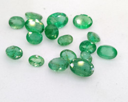9.25cts  Very Good Quality  Emerald Parcel , 100% Natural Gemstone