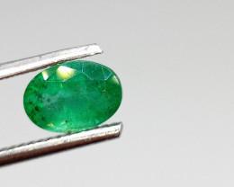 1.23cts Zambian Emerald , 100% Natural Gemstone