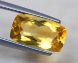 3.42ct Natural Yellow Citrine Octagon Cut Lot GW7746
