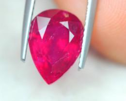 4.12ct Ruby Pear Cut Lot GW7022