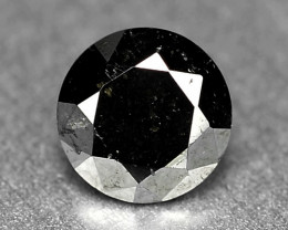0.37 Cts Amazing Rare Fancy Black Color Natural Loose Diamonds