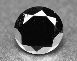 0.44 Cts Amazing Rare Fancy Black Color Natural Loose Diamonds