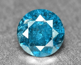 0.17 Cts Sparkling Rare Fancy Intense Blue Color Natural Loose Diamond