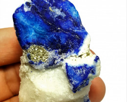 Amazing Natural color Damage free Lapis Lazuli Specimen 355 Cts-A