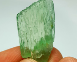 Amazing Damage free DT gemmy Hiddenite Crystal 30 Cts-A