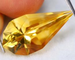 Golden Citrine 7.47Ct VVS Natural Designer Cutting Golden Citrine A2702