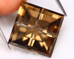 Smoky Quartz 11.86Ct Natural Designer Brown Color Smoky Quartz A2711