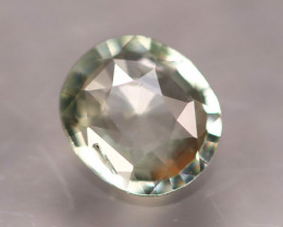 Unheated 1.16Ct Natural Unheated Greenish White Sapphire D3107/B32