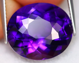 Uruguay Amethyst 10.64Ct VVS Natural Vivid Electric Violet Amethyst C2710