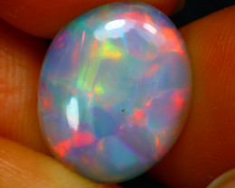 Welo Opal 2.93Ct Natural Ethiopian Play of Color Opal D3137/A29