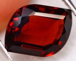 Almandine 3.32Ct VVS Natural Vivid Blood Red Almandine Garnet C2715