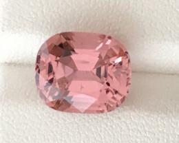 5.20 Carats Natural Baby Pink Color Tourmaline Gemstone