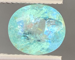 Paraiba 4.20 Carats Natural Color Tourmaline Gemstone