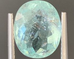 Paraiba 3.70 Carats Natural Color Tourmaline Gemstone