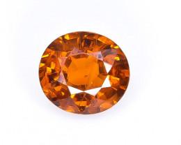 1.50 Crt Spessartite Garnet  Faceted Gemstone (Rk-25)