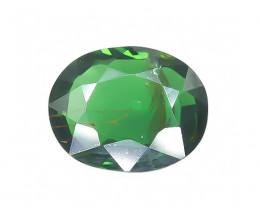 1.0 Crt  Faceted Chrome Tourmaline Gemstone (Rk-25)