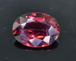 2.10 Crt  Rhodolite Garnet  Faceted Gemstone (Rk-25)
